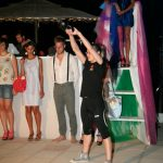 Presentazione Kettlebell, bagno Obelix di Marina di Ravenna, evento Ordine e Disordine (25.06.2012)